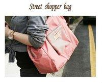 Free shipping  foldable bag ,Travel bag ,multicolor
