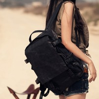 Free Shipping High Quality  Genuine Leather Fashion Backpacks  9884
