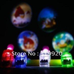 Free shipping 8pcs/lot Projector lamp LED Finger Light,Laser Finger light