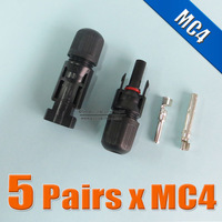 10Pairs x MC4 Connector male and female, MC4 Solar Panel Connector used for Solar Cable 2.5mm2 4mm2 6mm2
