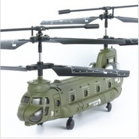 3CH Dual-propeller Chinook RC Helicopter, kids transport aircraft model toys, stunt /vacant / USB charging + free shipping