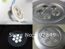 Retail Sale CE&RoHs 3w/5w/7w/9w  Led Downlight   2 years Warranty Ceiling Lamp(China (Mainland))