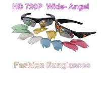 2013 Hot Sell Video Recorder Real HD 720P Camera+170 degrees wide Angle + 5.0 Mega pixel Sunglasses DVR Eyewear hidden camera