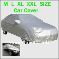 Car Waterproof 4.5m/4.7m/4.9m/5.3m UNIVERSAL Anti UV RAIN SNOW RESISTANT WATERPROOF OUTDOOR FULL CAR COVER XXL Free Shipping
