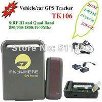 100% genuine original TK106 + hard wired car charger car micro GPS transmitter Tracker  Inbuilt Shock Sensor and Sleep