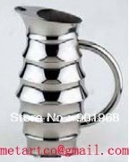Home hotel bar club office stainless steel water jug water pitcher-12pcs/lot