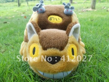 "12"" My Neighbor Totoro Ghibli Plush Cat Bus Plush Doll Toy Pl002"