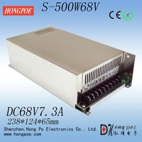 Free delivery of S-500-68 500W 68V7.3A Switching Power Supply 68V 7.3A