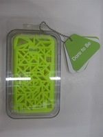 For iPhone4/4S Double Mesh Net Case, High Class PC Material, iShell Case for iPhone 4/4S, Good Seller in 2012