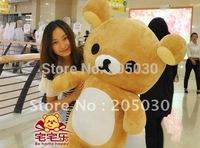 Xmas Gift San-x Rilakkuma plush stuffed doll animal sot toy 60cm size free shipping