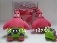 Hot wholesales!1-32GB Square Pants SpongeBob USB Flash Drive .Lovely cartoon usb flash drive
