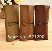 C316 South Korea stationery han2 ban3 creative restore ancient ways elegant tower wool skin pen bag OPP bag packaging