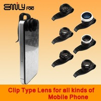 New fashion Clip Lens for iPhone 4 4s all kinds of mobile phone