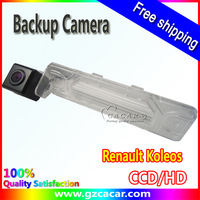Free shipping,backup car camera ,waterproof ,night vision ,for Renault Koleos