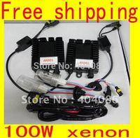 100W HID Xenon Conversion kits light lamp bulb 4300K 6000K 8000K 10000K 9006/9005/H4/ H3/ H1/ H7/ H11 Plug and Play