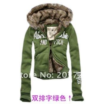 2013 Free Shipping women fur sweater hoodies sweatshirts Womens Winter thickening outwear