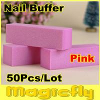 [BFL-003]50Pcs/Lot Nail File Buffer, Buffing Sanding Files Block,wholesale,for Nail Art with buffer Polish Smooth Shine