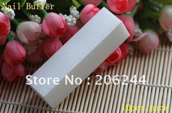 20pcs / Lot,High-Quality White Nail Buffer Block File 4 Way Shine, Free Shipping