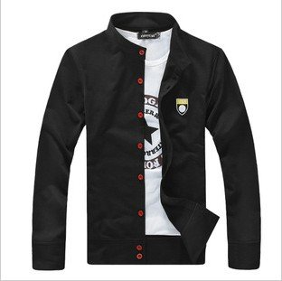 64 WY  ,   Men`s casual sweatshirt , hot style Cardigan, 5 colors ,casual jacket , fashion top . Freeshipping