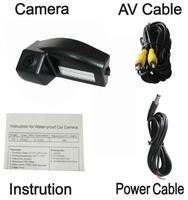 CCD camera NTSC system NIGHT VISION Car Reverse Rear View Backup camera for MAZDA 2/MAZDA 3