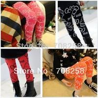 5pcs- Girls' Fashion New Bottom Pants Trousers, Kids/Children's Cartoon KT Leggings, free shipping, 693#