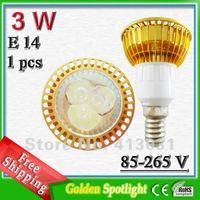 E14 3 W Mini Ampoule Spot LED High Brightness 120 degree spotlight bulb lamp ac 85-265v warm white / nature white / cold white