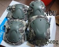 2013 new Tactical paintball protection , knee pads & elbow pads set  Free shipping
