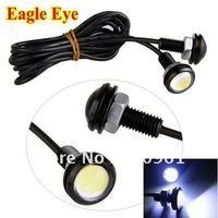 high power 3w IP68 car led light eagle eye lamp with Screw led car reversing light led daytime running light