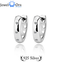 wholesale free shipping 925 silver jewelry Elegant 925 Sterling Silver Lady Earrings #EA100624