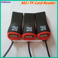 Wholesale Micro sd card 32GB tf Card Reader M2 Usb Reader 20pcs/lot Free shipping