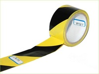"Yellow and Black Strip Barricade Tape size 3"" x 100m"