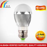 Eyes Protection!!! 4W E27 Globe LED Bulb For Destop Table Lamp Lighting Source 4W  E27 Energy Saving LED Light Free Shipping