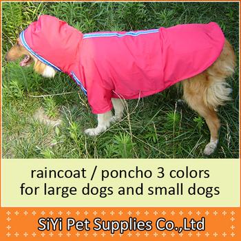Free shipping Dog clothes pet clothes dog raincoat husky large dog raincoat