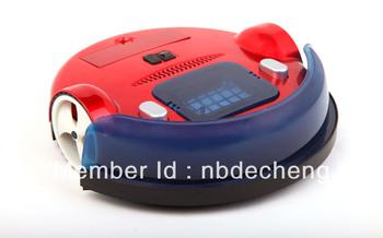 Portable Robotic Vaccum Cleaner vacuum+wiping