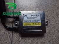 Free shipping !  Auto  HID high quality ballast,X3 CANBUS Ballast +14 months warranty !