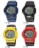 Super Man! Hot ! Top quality Brand Waterproof  men sports digital watch/ alarm multifunction/ electronic dive watch CountDown