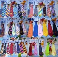 Free shipping,105 designs available,Children tie/Child necktie/Boys Girls Ties/ Baby scarf neckwear neckcloth/tie,40pcs/lot