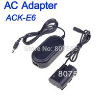 ACK-E6 ACKE6 AC Power Supply Adapter Charger For Camera Canon EOS 7D 60D 5D Mark II III Adaptador