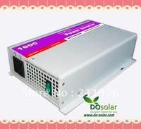 1000W off grid inverter, 1KW pure sine wave inverter, DC 12V 24V to AC 220V for solar power system, wind turbine generator