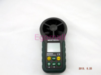 vane anemometer MS6252A an anemometer With wind speed air flow Free Shipping O115