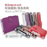 100pcs/lot Free Shipping For Sony  Prs-T1,Book style PU leather cases