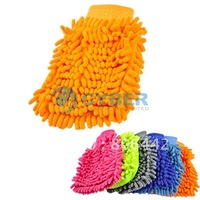 Free shipping Super Mitt Microfiber Household Car Wash Washing Cleaning Glove 4396