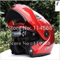 New Arrival LS2 FF370 Full Face Moudular Flip Up Dual Visor Motorcycle Helmet Free Shipping