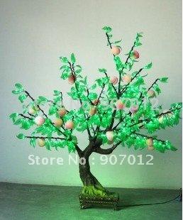 Led fruit lamp led cherry tree led christmas tree by wholesale and retail DHL OR EMS(China (Mainland))