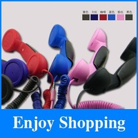 KK-T01 Fast shipping 10pcs/lot Colour Anti-Radiation retro mobile phone telephone handset