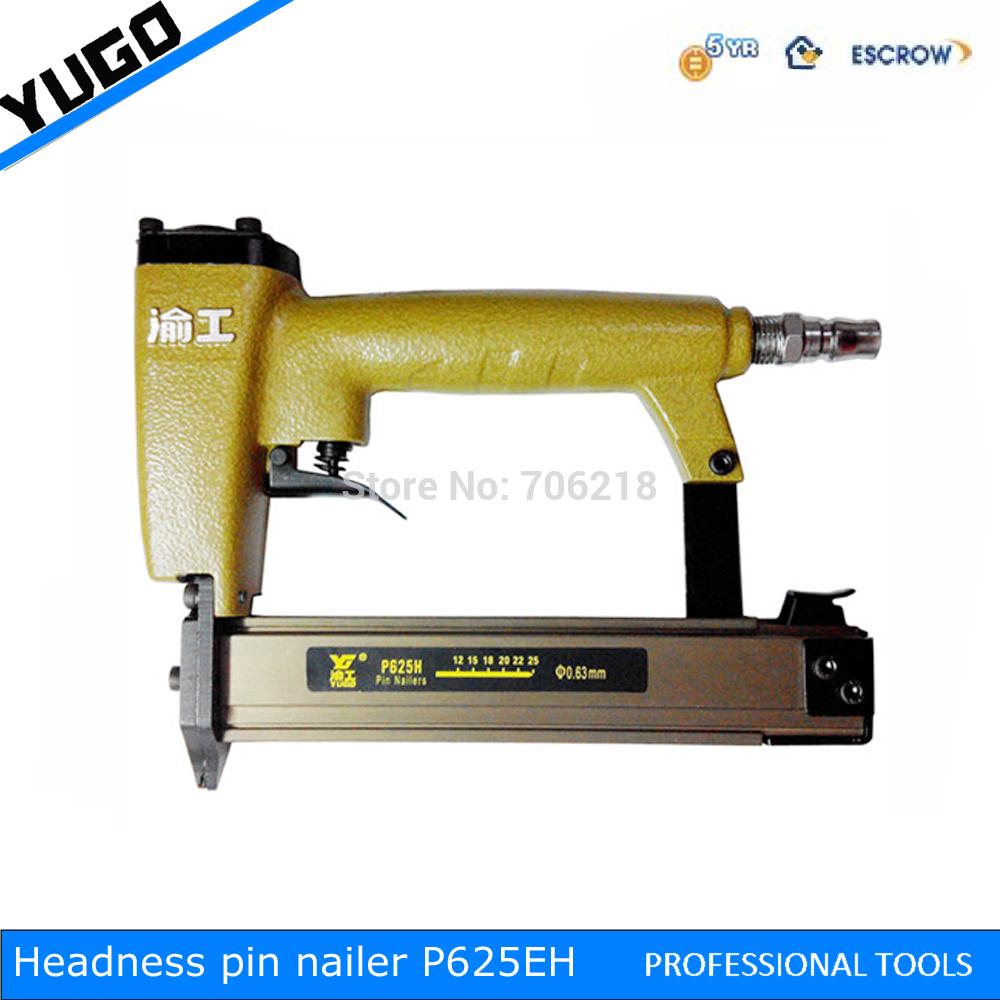 Calibre 23 pinos micro decapitado nailer , P625C nailer pneumático(China (Mainland))