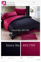 free shipping Cotton half active AB edition printing Four bedding  set