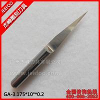 3.175*10Degree*0.2 Solid Carbide Flat Bottom Engraving Bit/ CNC Router Tool /Cutting Knifes Tools/ Flat Bottom PCB Engraving