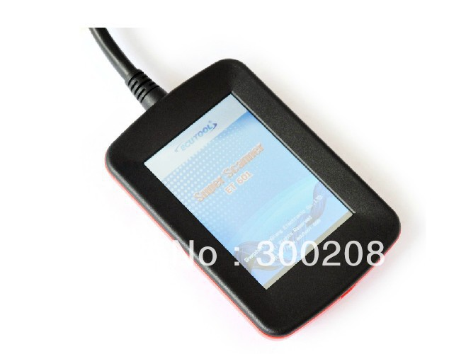 New 2013 Version UNIVERSAL Super Scanner ET601 OBD II EOBD Color Code Reader Scanner Best Car Diagnostic Scan Tool+Free Shipping(China (Mainland))