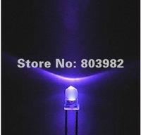 Hot sale UV 3mm led 395-400nm ultraviolet led diode(UVA products supplier)